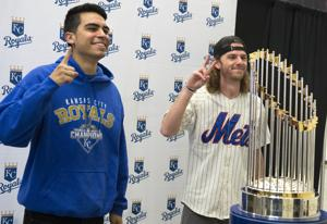 Photos: World Series trophy in Lincoln