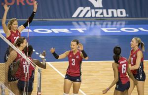 Photos: USA vs. Puerto Rico, NORCECA volleyball