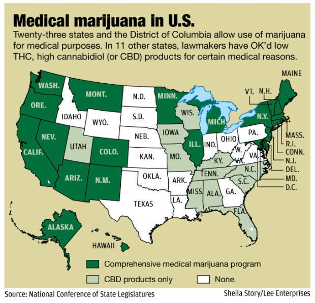 Unlikely Senator Pushes For Medical Marijuana Bill State