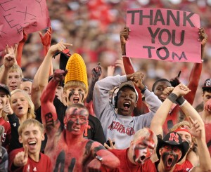 Photos: Husker fans gear up for Wisconsin, 9.29.12