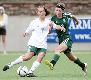 Photos: Girls state soccer, Pius X vs. Gretna, 5.15.15