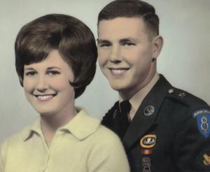 Happy 50th anniversary, Jim and Wanda Lawson