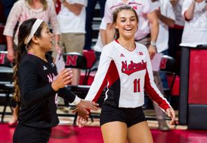 Photos: Iowa vs. Nebraska volleyball