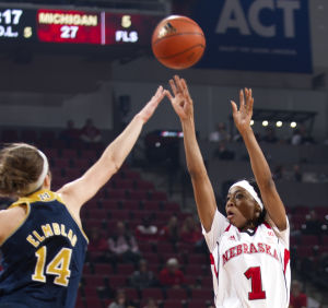 Photos: Michigan vs. Nebraska, women's hoops, 2.1.15