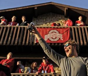 Photos: Husker fans invade the Horseshoe, 10.6.12