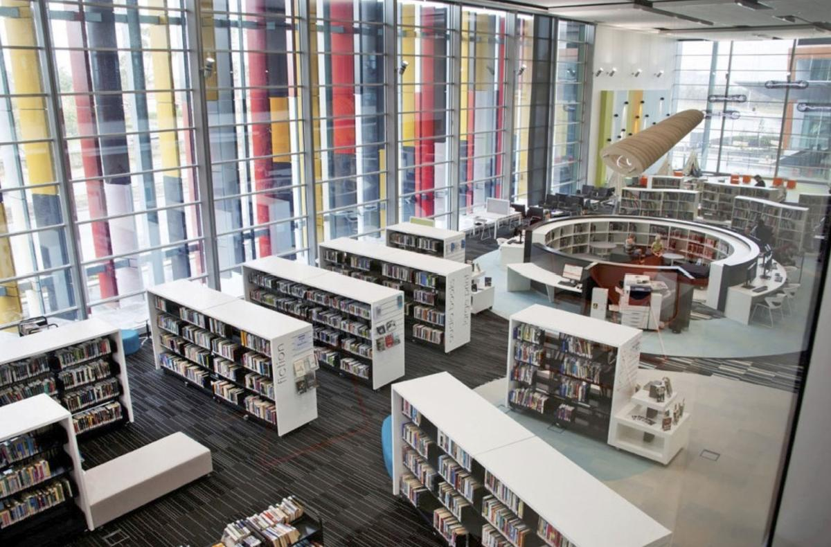 Plans For New Central Library Begin To Take Shape Local