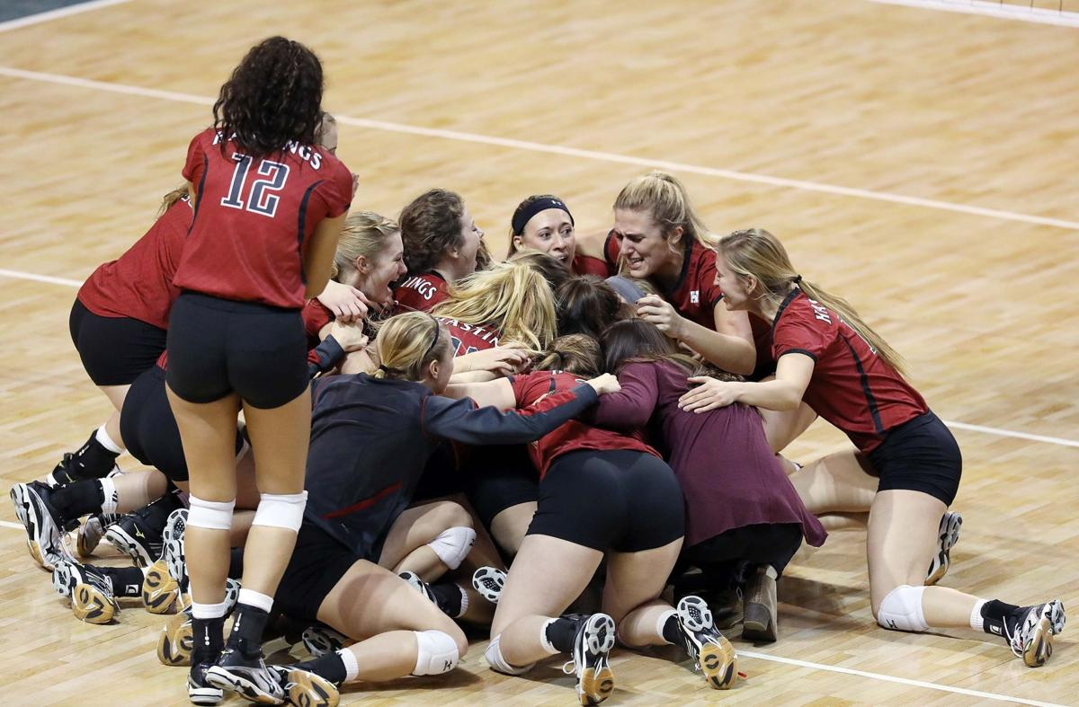 NAIA volleyball: Hastings rallies to win national title ...