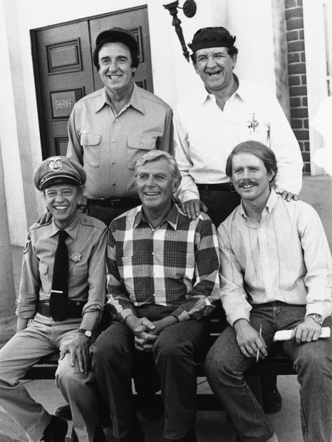 Jim Nabors George Lindsay Don Knotts Andy Griffith Ron