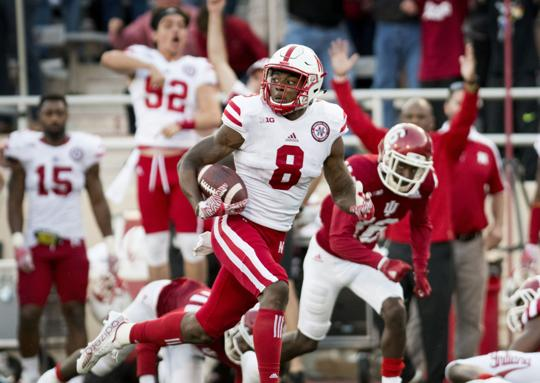 Image result for Stanley Morgan touchdown vs Indiana