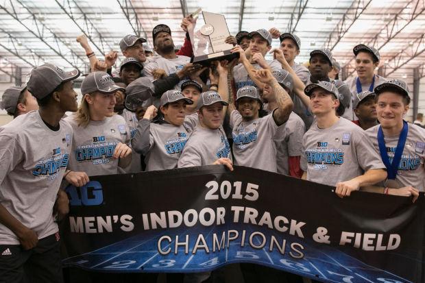 NU track: Husker men win first Big Ten indoor championship
