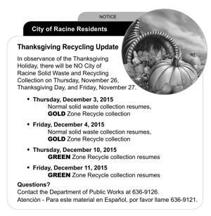 Racine City Public Works