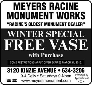 Meyers Racine Monument