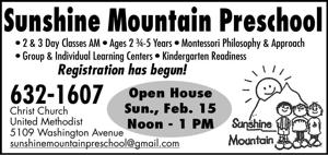 Sunshine Mountain Preschool