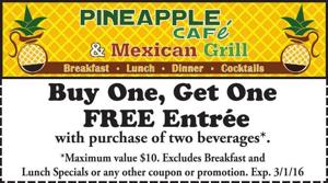 Pineapple Cafe & Mexican Grill