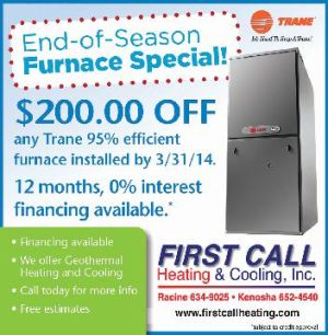 First Call Heating and Cooling, Inc.