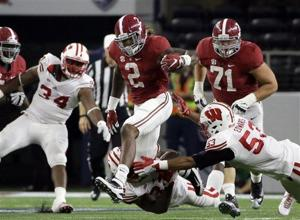 Photo Gallery: Wisconsin falls to Alabama in opener