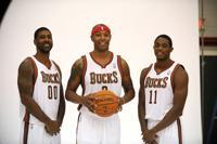 PHOTO GALLERY: Milwaukee Bucks media day