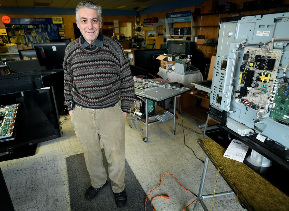 Television Repair Service : Tv repair shop holding steady local news journaltimes