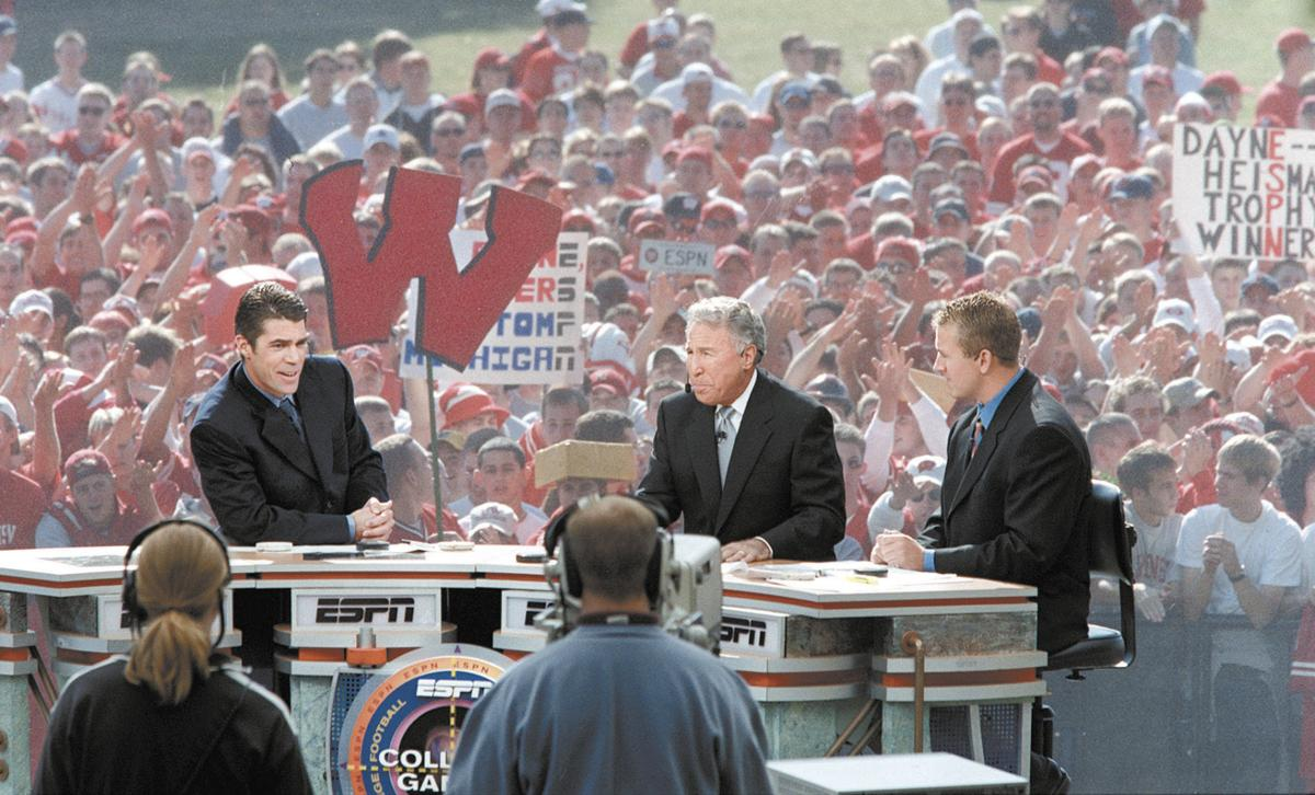 what college football games are on right now espn college football wisconsin