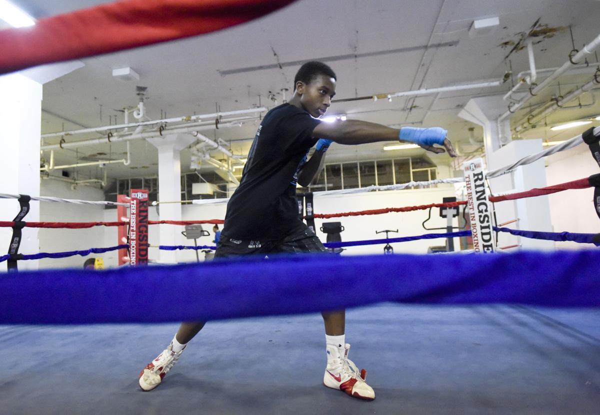 Ymca Boxing Ring