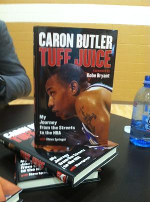 Photo Gallery: Butler does book signing in Racine