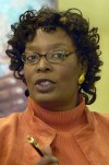Co-investigator speaks at campaign kick off