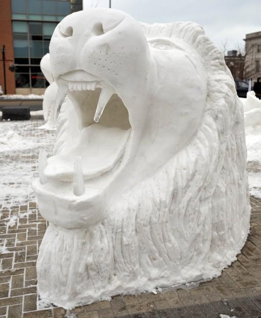 photo gallery  winterfest snow sculptures