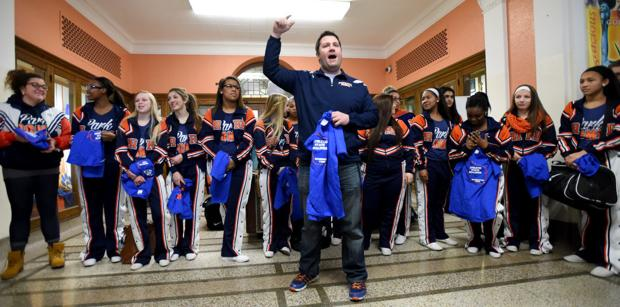Park poms team goes to state, remembers coach