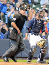 Ben May hopes to change his status as a Major League Baseball umpire from substitute to permanent