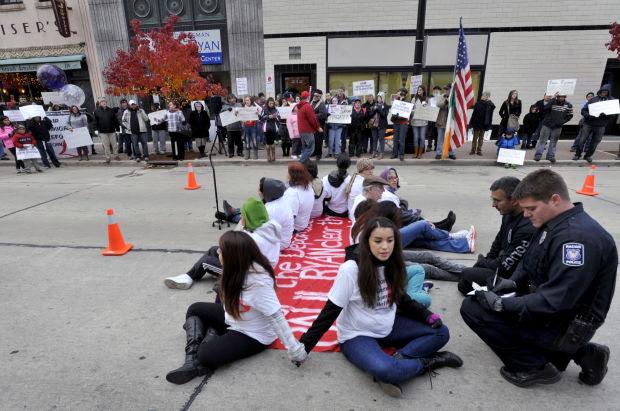 Ryan Protest