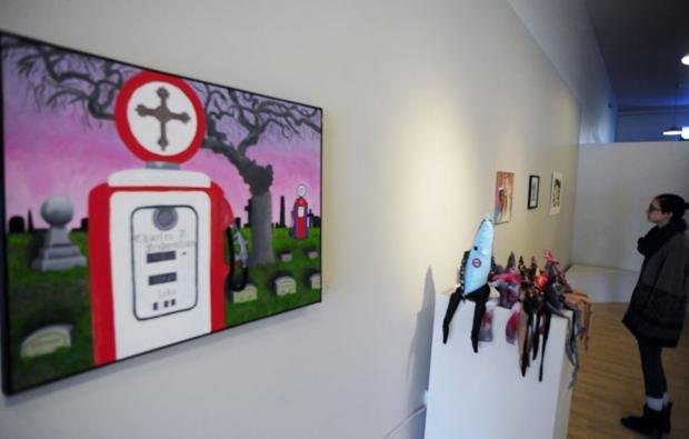 Unified art teachers' work on exhibit at Racine Arts Council gallery