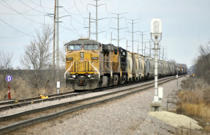 A big economic engine: Fracking and other energy needs driving region's busy train traffic