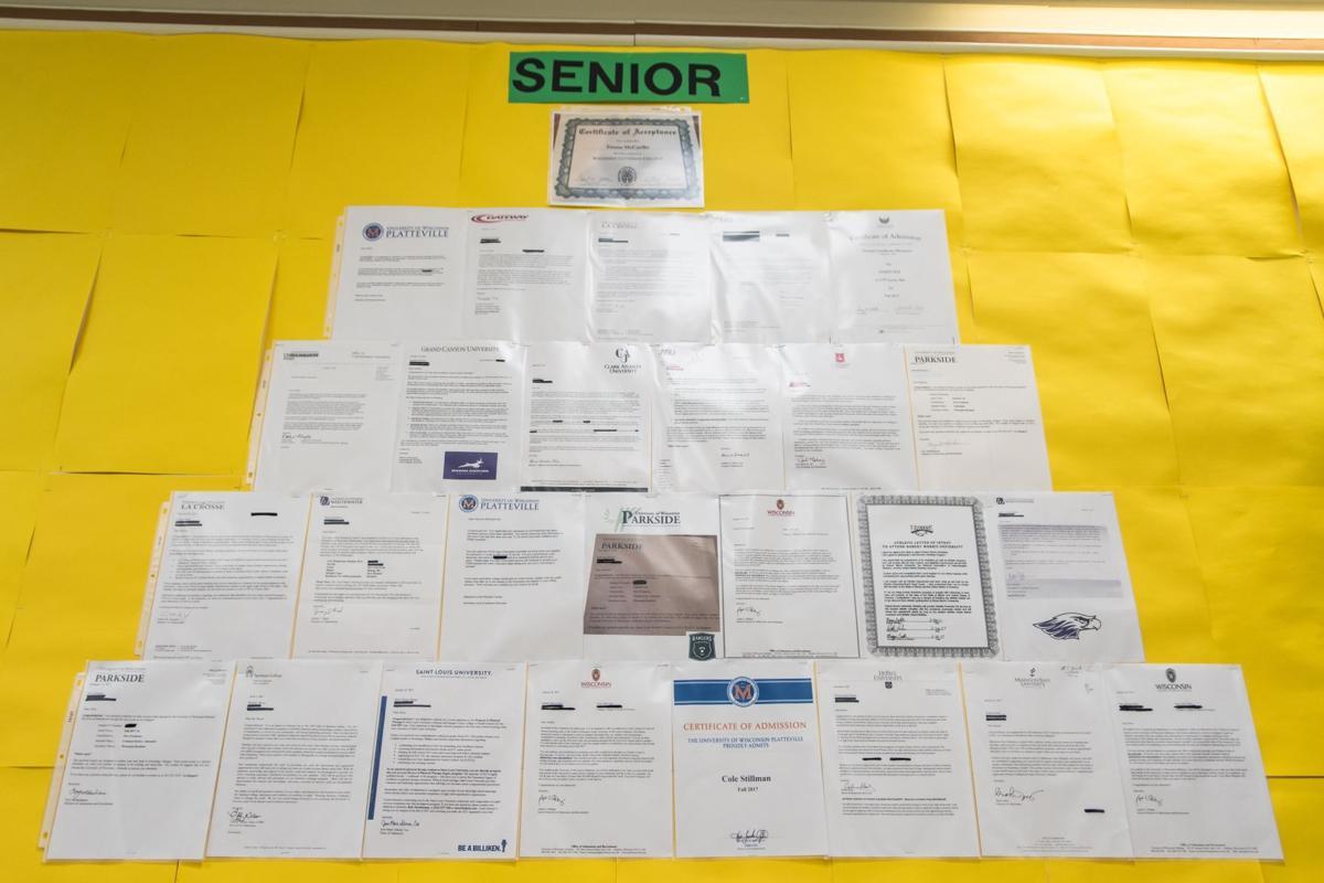 Case High School Seniors Celebrate Post Graduation Plans