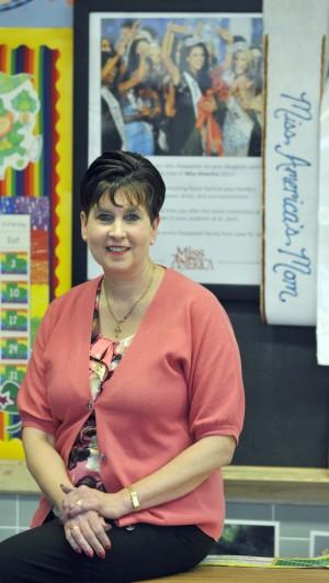 Sue Kaeppeler, the mother of Miss America 2012 Laura Kaeppeler, ...