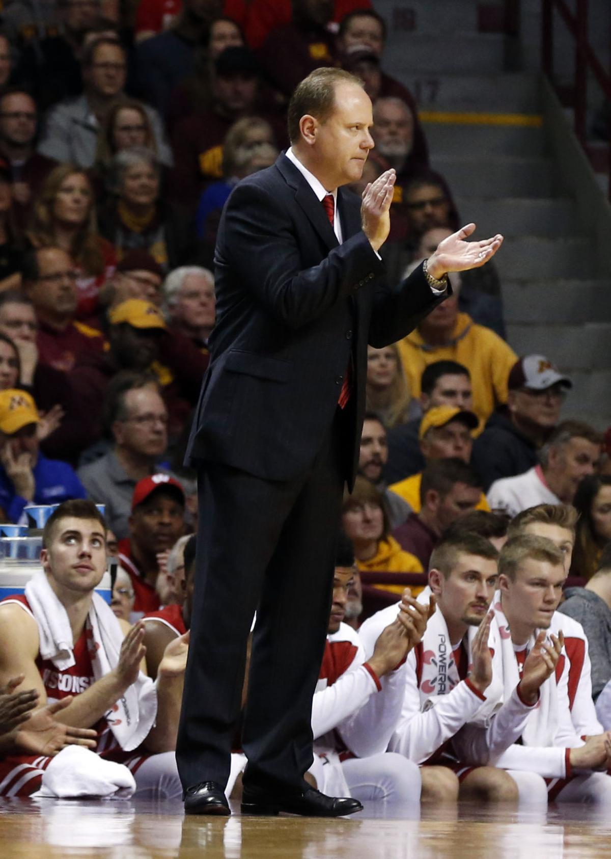 Wisconsin Minnesota Basketball
