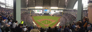 PHOTO GALLERY: Brewers beat Braves on opening day at Miller Park