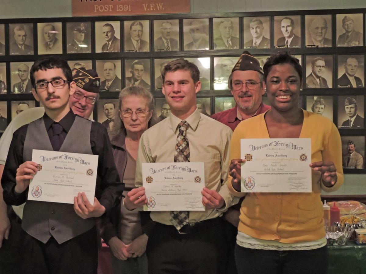 vfw voice of democracy essay winners announced a journaltimes com voice of democracy winners