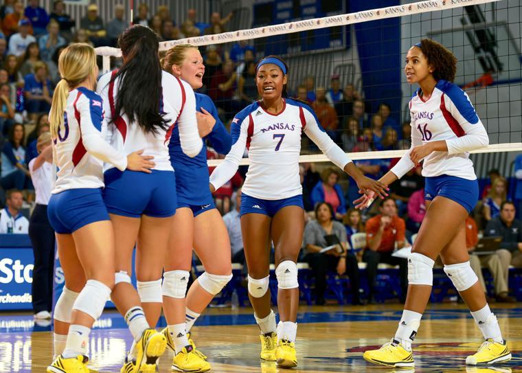 KU volleyball starts season this weekend at Arkansas ...