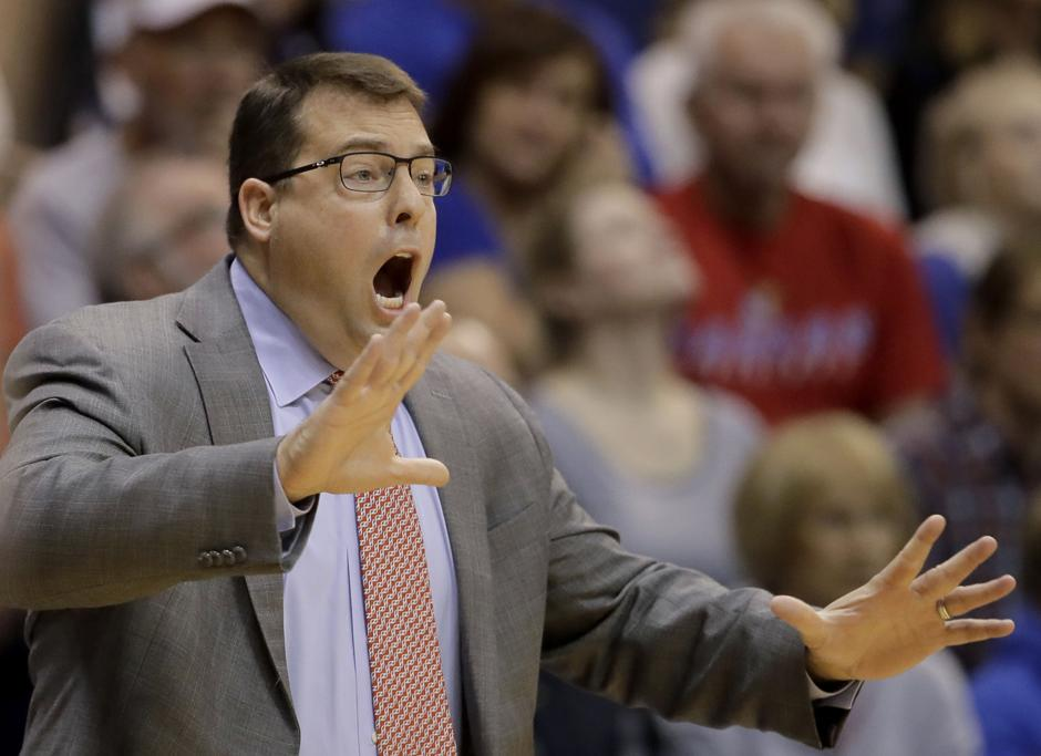 Stanford coach, former Kansas guard Jerod Haase receives ...