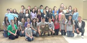 Academic team finishes successful year