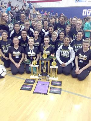Lionettes shine at Danceline State Contest