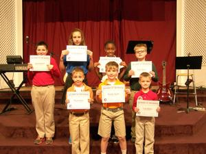 Christian School January Students of the Month