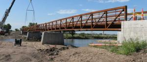Structure spans Fort Kearny trail gap for first time since 2009 wildfire