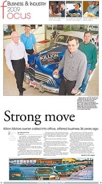 Killion motors owner called into office offered business for Killion motors kearney ne