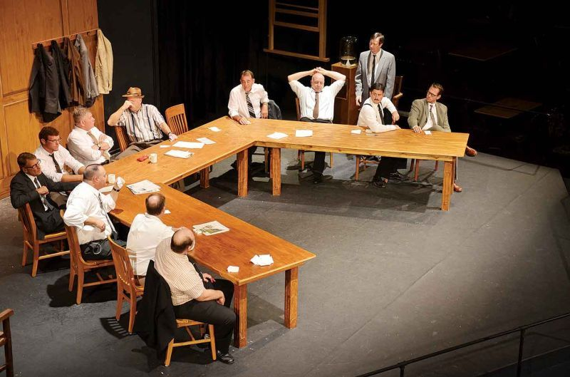 jurors point of view in 12 angry men No score yet action point jun 1  the twelve jurors retire to the jury room,  having been admonished that the defendant is innocent until proven guilty  beyond a reasonable doubt eleven of  a pet project of henry fonda's, twelve  angry men was his only foray into film  view all 12 angry men (twelve angry  men) news.
