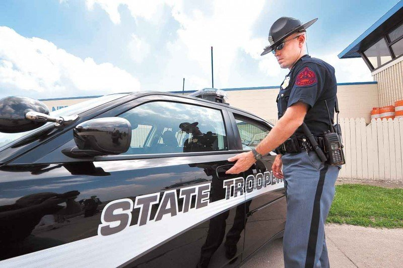 Safety Of State Patrol Cars Design Color Being Studied