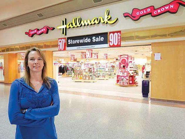 Family ownership of hilltop mall hallmark store ending Amys hallmark