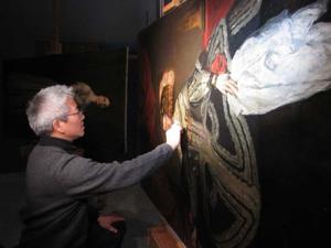Nebraska's only painting conservator to speak at MONA