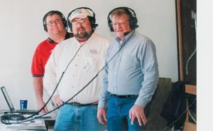Crew from KCNI/KBBN Radio