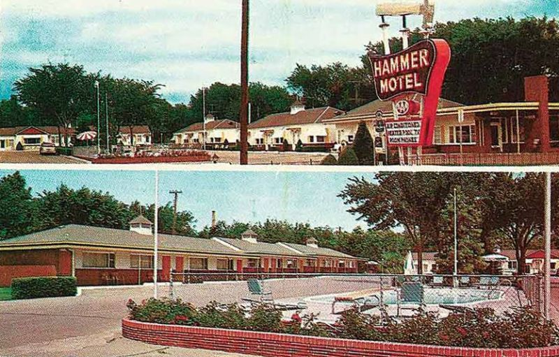 Looking back on the history of the hammer motel kearney for Motel one wellness